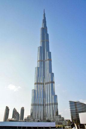 現時点で世界一の高さを誇る建物「ブルジュ・ハーリファ」
