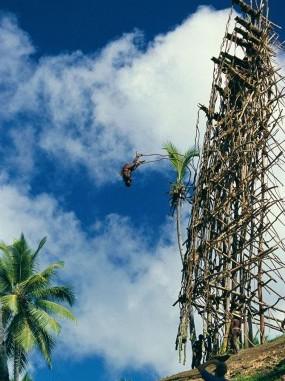 ペンテコスト島の成人の儀式「ナゴール」バヌアツ政府観光局(C)